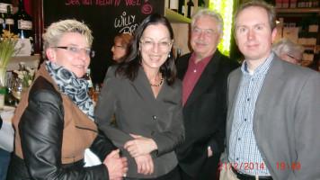 Bildmitte: Unsere Vertretung in Berlin, Claudia Tausend